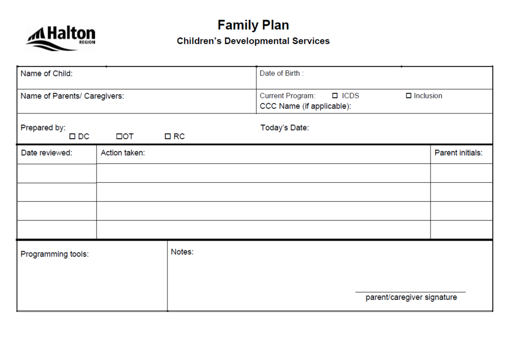 Halton family plan1