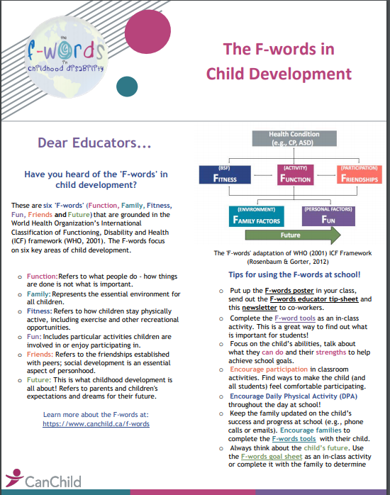 Newsletter for educators