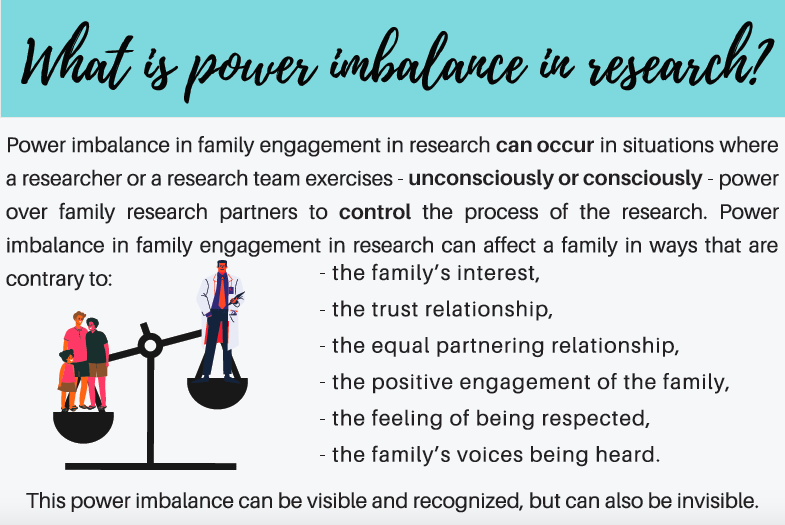 Power imbalance in research